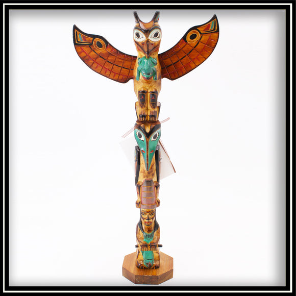 Totem Pole - Shaman's Daughter 14
