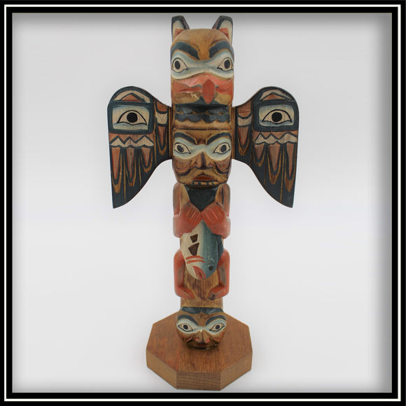 Totem Pole - Eagle Boy 8