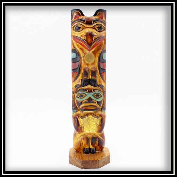 Totem Pole -The Legend of the Sun & Raven 10.5