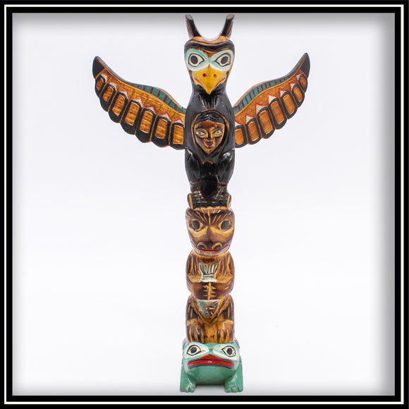 Totem Pole - The Spirit of the Eagle 9