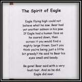 Totem Pole - The Spirit of the Eagle 9""