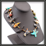 Multicolored Fetish Necklace