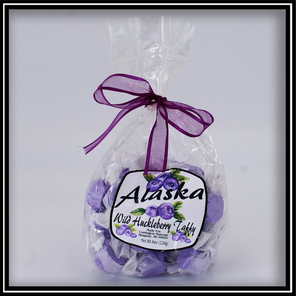 Wild Huckleberry Taffy - 8 oz