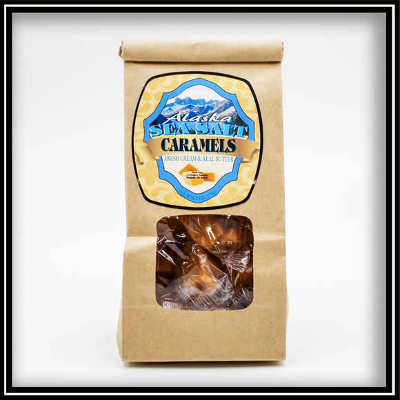 Alaska Sea Salt Caramels - 6.2 oz