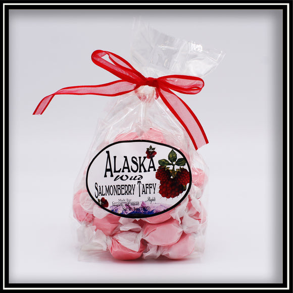 Wild Salmonberry Taffy - 8 oz