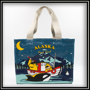 Alaska Night Fisherman Bag