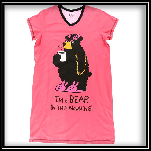 Bear in the Morning Nightshirt