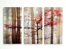 Load image into Gallery viewer, Renditions Gallery Orange Awakening 3 Panel Wall Art for Home, Office, Bedroom 40X60