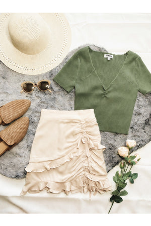 Just Right Knit Top