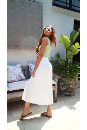 White Breeze Skirt