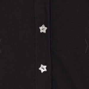 Padme Black Star Cardigan