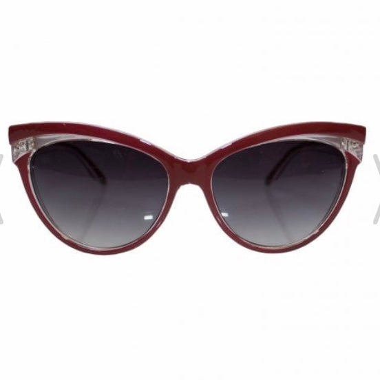 Judy Classic 50's Sunglasses Red