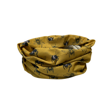 Load image into Gallery viewer, Mustard bee multi-way band – 'Blissful Buzz'