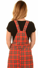 Load image into Gallery viewer, Run & Fly Tartan Pinafore