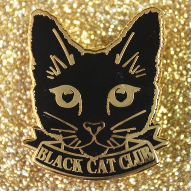 Black Cat Club Pin