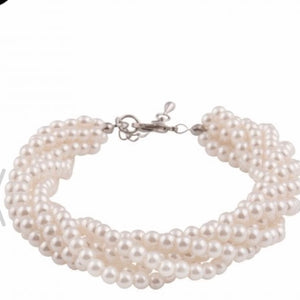 Collectif Twisted Pearl Bracelet