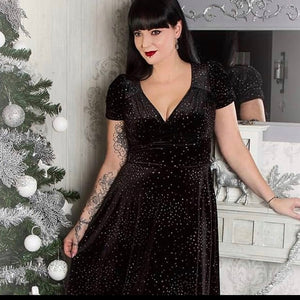 Hell Bunny Glitterbelle Dress
