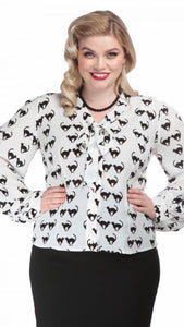 Collectif Meooow Blouse