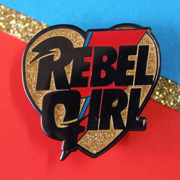 Rebel Girl Enamel Pin