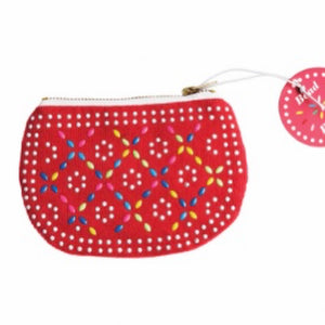 Red Bead Purse