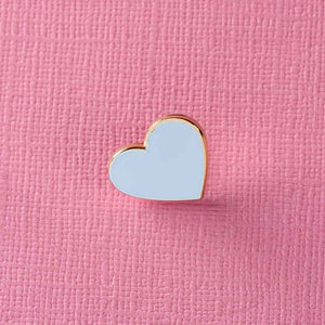 Punky Pins Heart Enamel Pin Assorted Colours