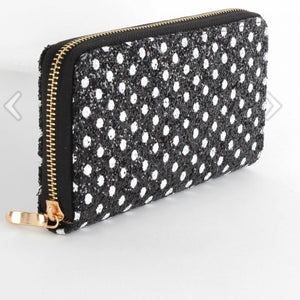 Glitter Polka Dot Purse