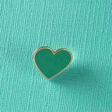 Load image into Gallery viewer, Punky Pins Heart Enamel Pin Assorted Colours