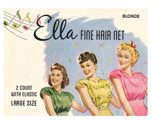 Ella Fine Hair Net *Assorted Colours*