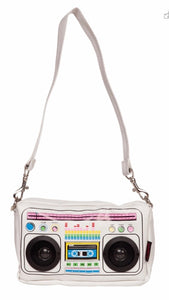 Boom box bag White