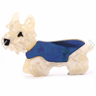 Hamish Scotty Dog Brooch
