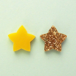 Star Studs Yellow/Gold