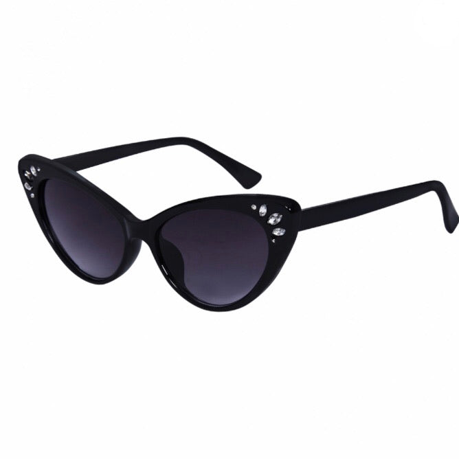 Kelly Gem Sunglasses in Black
