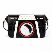 Load image into Gallery viewer, Patsy Paparazzi Bag in Black