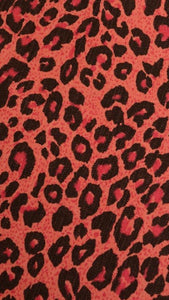 Run & Fly Pink Leopard Pinafore