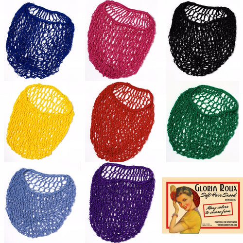 Gloria Roux Soft Hair Snood *Assorted Colours*