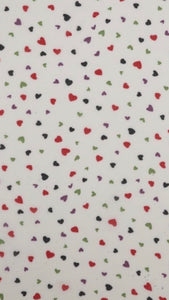 Trisha Mini Hearts Scarf