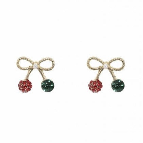 Sweetheart Bow Studs