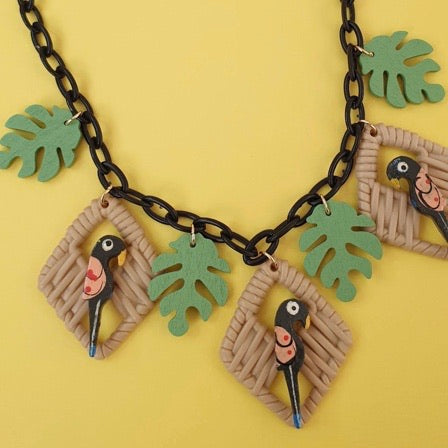 Polly Necklace Black
