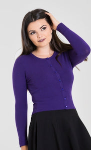 Paloma Cardigan Purple