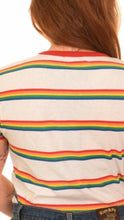Load image into Gallery viewer, Rainbow Stripe T Shirt