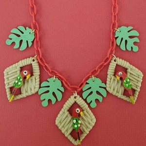 Polly Necklace Red