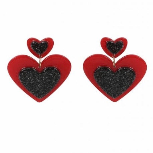 Eva Hearts Earrings