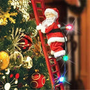 Christmas Electric Ladder Climbing Santa