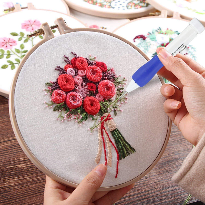 DIY Rainbow Color Embroidery Threading Tool