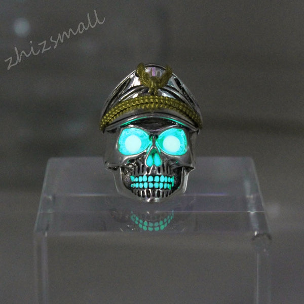 GLOWING SKULL RINGS
