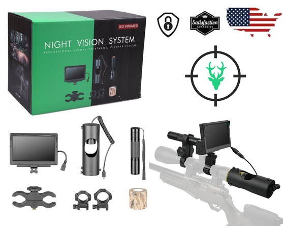 BUMLUV VISION SCOPE - DIGITAL NIGHT VISION IR OPTICS