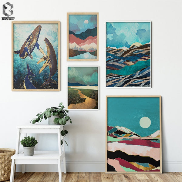 Japanese Scenery Canvas - Bumluv