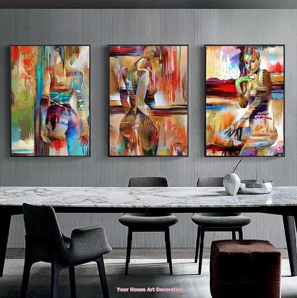 Nordic Canvas Art Oil Painting - Bumluv