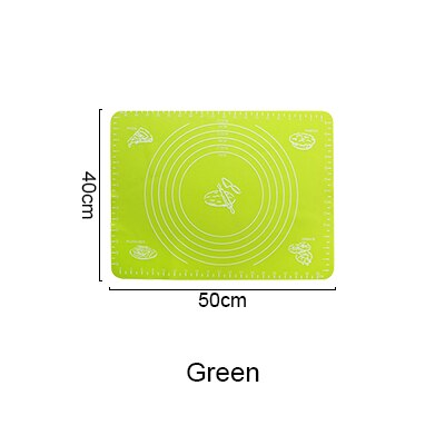 Thicken Silicone Kneading Dough Mat Scale Non-Stick Kitchen Baking Tool Cake Board Large Soft High Temperature Rolling Dough Pad - Bumluv