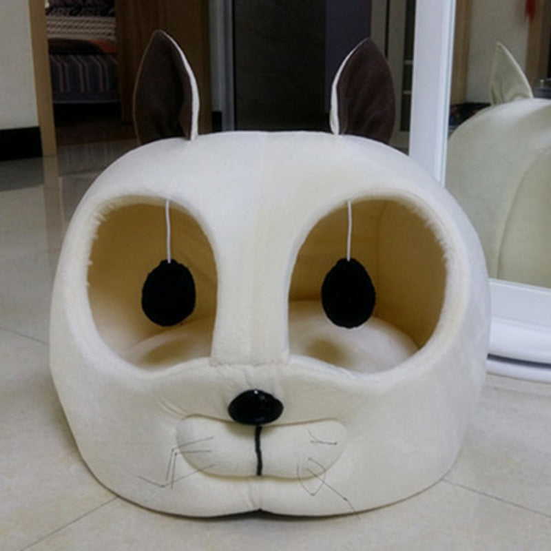 Soft Warm Cat House Pet Product For Small Dog Puppy Kennel Sofa Bed Cat Sleeping Bags Pet Dog Rabbit Nest Cat Litters Tent chien - Bumluv